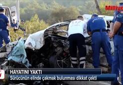 Kazada dikkat çeken detay