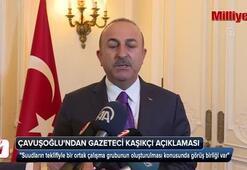 Çavuşoğlundan Gazeteci Kaşıkçı açıklaması