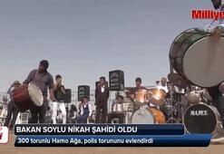 Bakan Soylu, polis memurunun nikah şahidi oldu