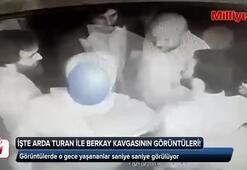 Son Dakika: Arda Turan ve Berkay arasındaki kavganın görüntülerine ulaşıldı