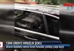 Ünlü şarkıcı Cenk Eren'e hırsızlık şoku