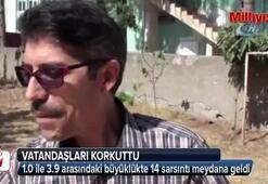 Adanada art arda depremler meydana geldi
