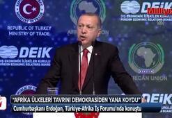 Cumhurbaşkanı Erdoğan: Afrika ülkeleri Filistin davasına sahip çıktı
