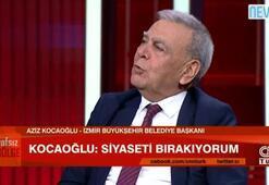 Aziz Kocaoğlu CNN TÜRKte açıkladı: Siyaseti bırakıyorum