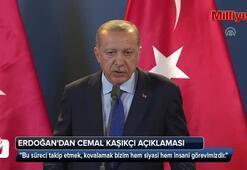 Cumhurbaşkanı Erdoğandan kayıp gazeteci Cemal Kaşıkçı açıklaması