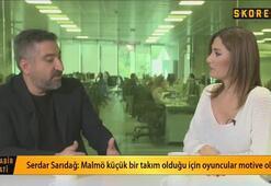 Serdar Sarıdağ: Beşiktaş, Malmö maçına motive olamadı