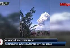 Deprem ve tsunamiden sonra bu kez de yanardağ patladı
