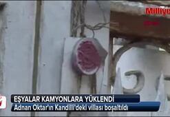 Adnan Oktarın villası boşaltıldı