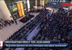 Erdoğandan Mesut Özil açıklaması: Bir fotoğraf çektirdik diye dışladılar