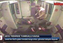 Gece treninde yumruklu kavga