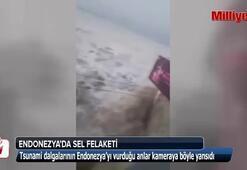 Endonezyayı hem deprem, hem tsunami vurdu
