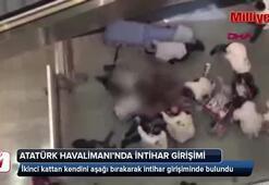 Atatürk Havalimanı'nda intihar girişimi