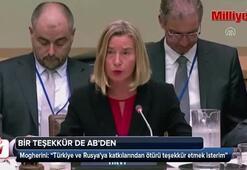 ABden Türkiyeye İdlib teşekkürü