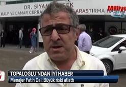 Ünlü sanatçı Mustafa Topaloğlundan iyi haber