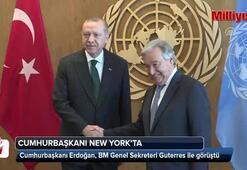 Erdoğan-Guterres görüşmesi sona erdi