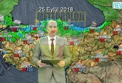 24 Eylül 2018 Üç Günlük Hava Tahmini