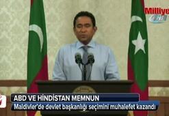 Maldivler'de devlet başkanlığı seçimini muhalefet kazandı