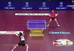 Sınırları zorladılar Masa tenisinde...