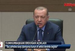 Cumhurbaşkanı Erdoğandan MHPnin af teklifine ilk yorum