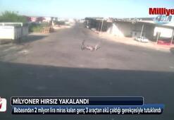 Adanada milyoner hırsız şaşkınlığı