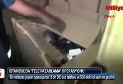 İstanbulda tele pazarlama operasyonu