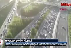 İstanbulda okul trafiği yoğunluğu