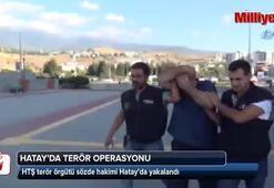 Terör örgütü üyesi Hatayda yakalandı