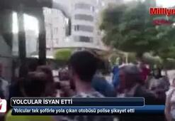 Yolcular polise şikayet etti