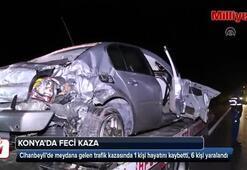 Konya'da feci kaza Ölü ve yaralılar var
