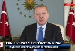 Cumhurbaşkanı Erdoğandan 737. Söğüt Ertuğrul Gaziyi Anma ve Yörük Şenlikleri mesajı