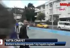 İstanbul Boğazında yatta dehşet