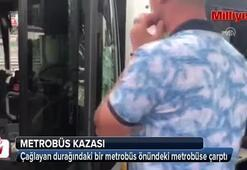 İstanbulda metrobüs kazası