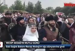 Recep Akdağ oğlunu evlendirdi