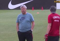 A Milli Futbol Takımı hazırlıklarını sürdürdü