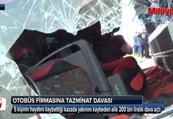Otobüs firmasına 200 bin liralık tazminat davası