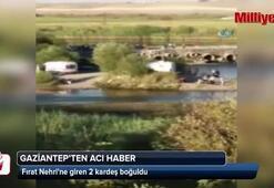 İki kardeş Fırat Nehrinde boğuldu, bir kişi kayıp