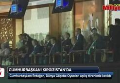 Cumhurbaşkanı Erdoğan, 3. Dünya Göçebe Oyunlarının açılış törenine katıldı