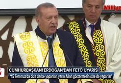 Cumhurbaşkanı Erdoğandan FETÖ uyarısı