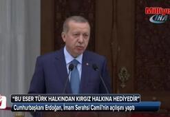 Cumhurbaşkanı Erdoğan, İmam Serahsi Camii'nin açılışını yaptı