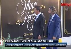 Kılıçdaroğlu ve İnce düğünde buluştu