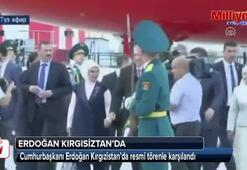 Cumhurbaşkanı Erdoğan Kırgızistanda