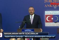 Dışişleri Bakanı Mevlüt Çavuşoğlundan flaş açıklamalar