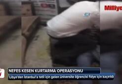 İstanbul'da nefes kesen kurtarma operasyonu kamerada