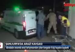 Araziden pay alamadığı için 4 kişiyi öldürdü
