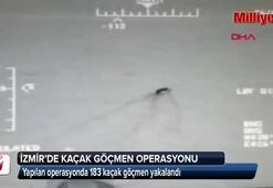 İzmirde 183 kaçak yakalandı