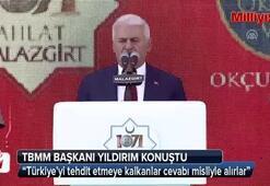 Yıldırım: Türkiye'yi tehdit etmeye kalkanlar cevabı misliyle alırlar