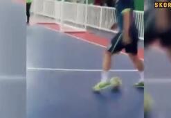 Futsal efsanesi Falcao klasını konuşturdu