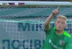Eskişehirsporlu eski futbolcu Vladislav Kulachtan Puskas golü