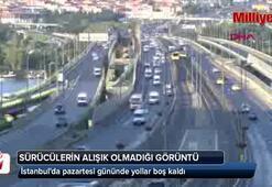 İstanbulda sürücülerin alışkın olmadığı görüntü