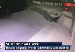 Sapık hırsız yakalandı